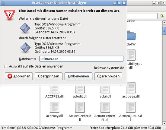 windows passwort vergessen linux